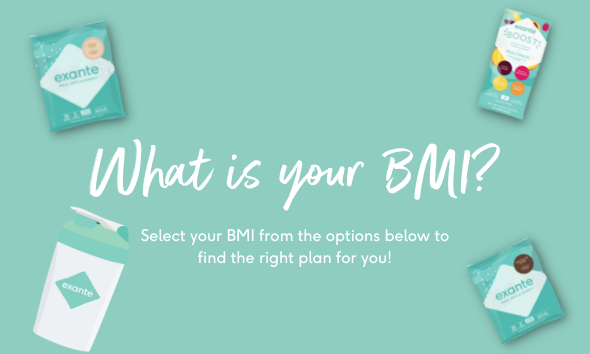 What is your BMI? Select your BMI from the options below to decide the right plan for you.