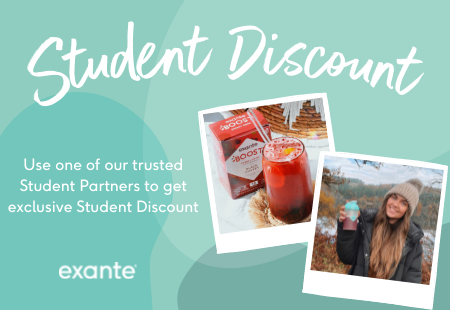 student discount. use one of our trusted student partners to get exclusive student discount.