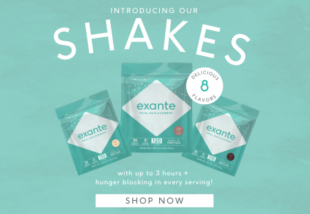 Introducing Our Shakes for Simple and Convenient Weight Loss with more than 3 hours of hunger blocking in every serving! 'Shop Now'