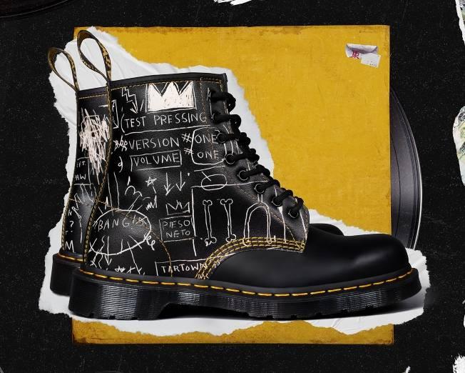 Dr. Martens X Basquiat