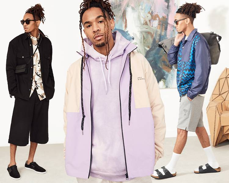 Spring Jackets Campaign Collage