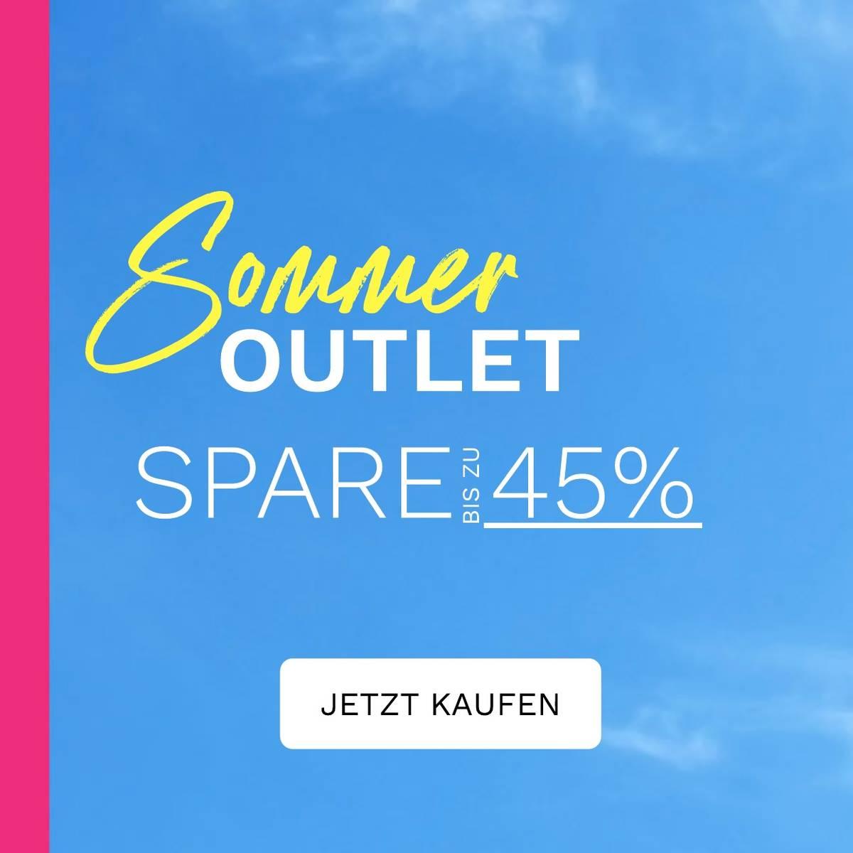 Spare bis zu 45% auf Sommer Must-Haves!