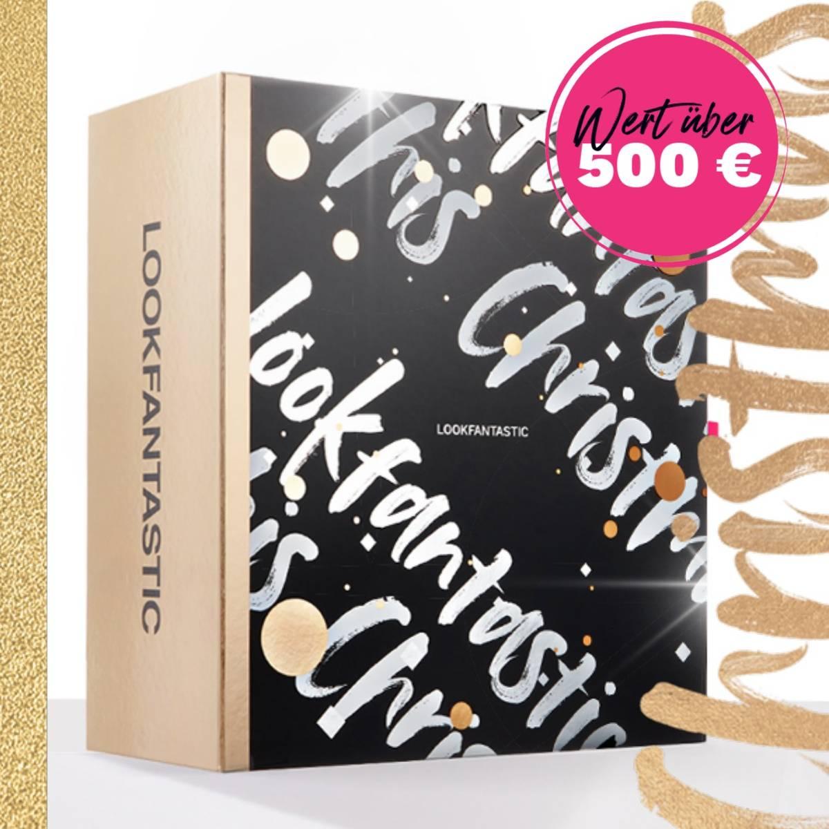 Es ist so weit, der LOOKFANTASTIC Adventskalender 2020 ist da! Mit 25 unglaublichen Produkten und einem Gesamtwert von über 500 €, ist dieser Kalender das perfekte Geschenk, um Weihnachten entgegenzufiebern.