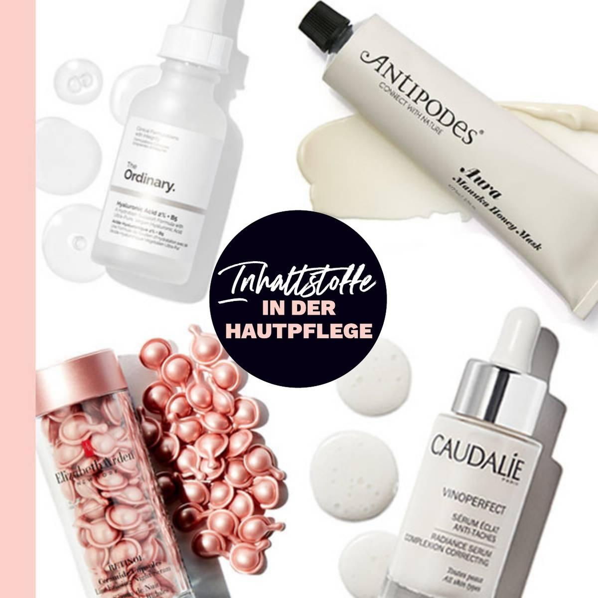 Shoppe nach Hautpflege-Inhaltsstoffen und finde heraus, was deine Haut am meisten braucht!