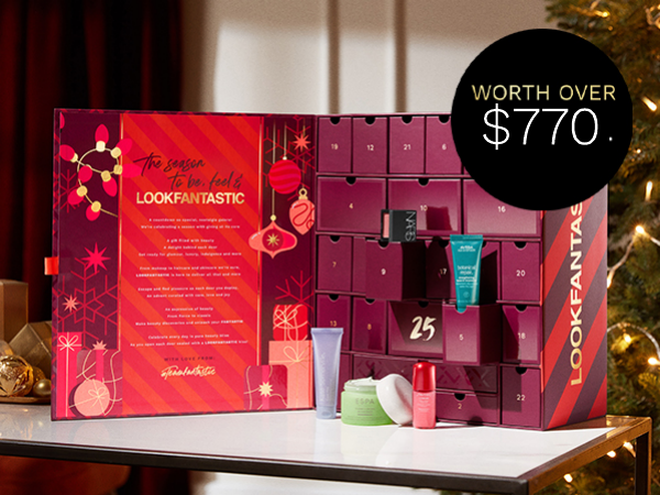 LOOKFANTASTIC 2021 Advent Calendar - Now available for pre-order!