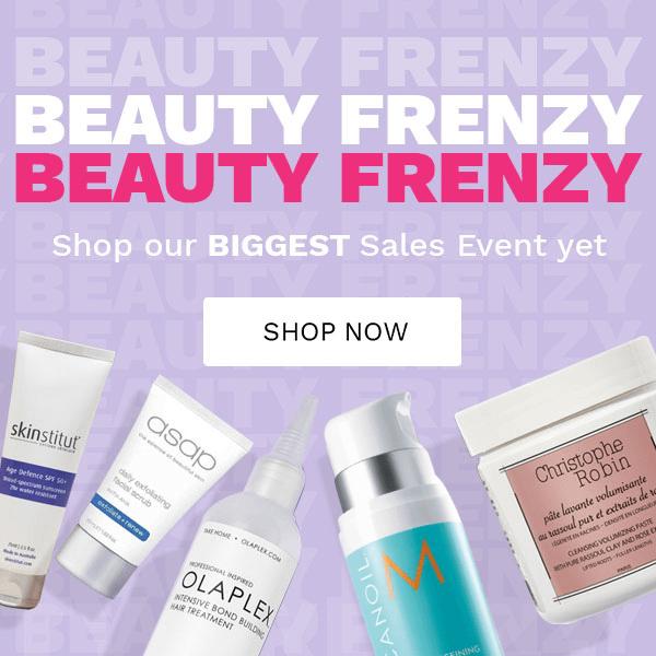 Beauty Frenzy banner