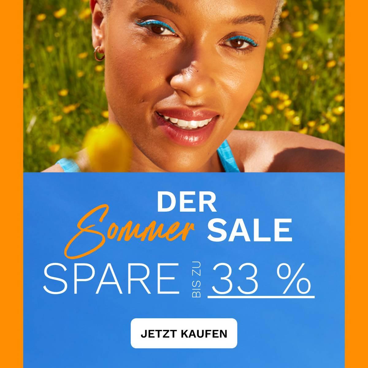 Spare bis zu 33 % auf Sommer Must-Haves!