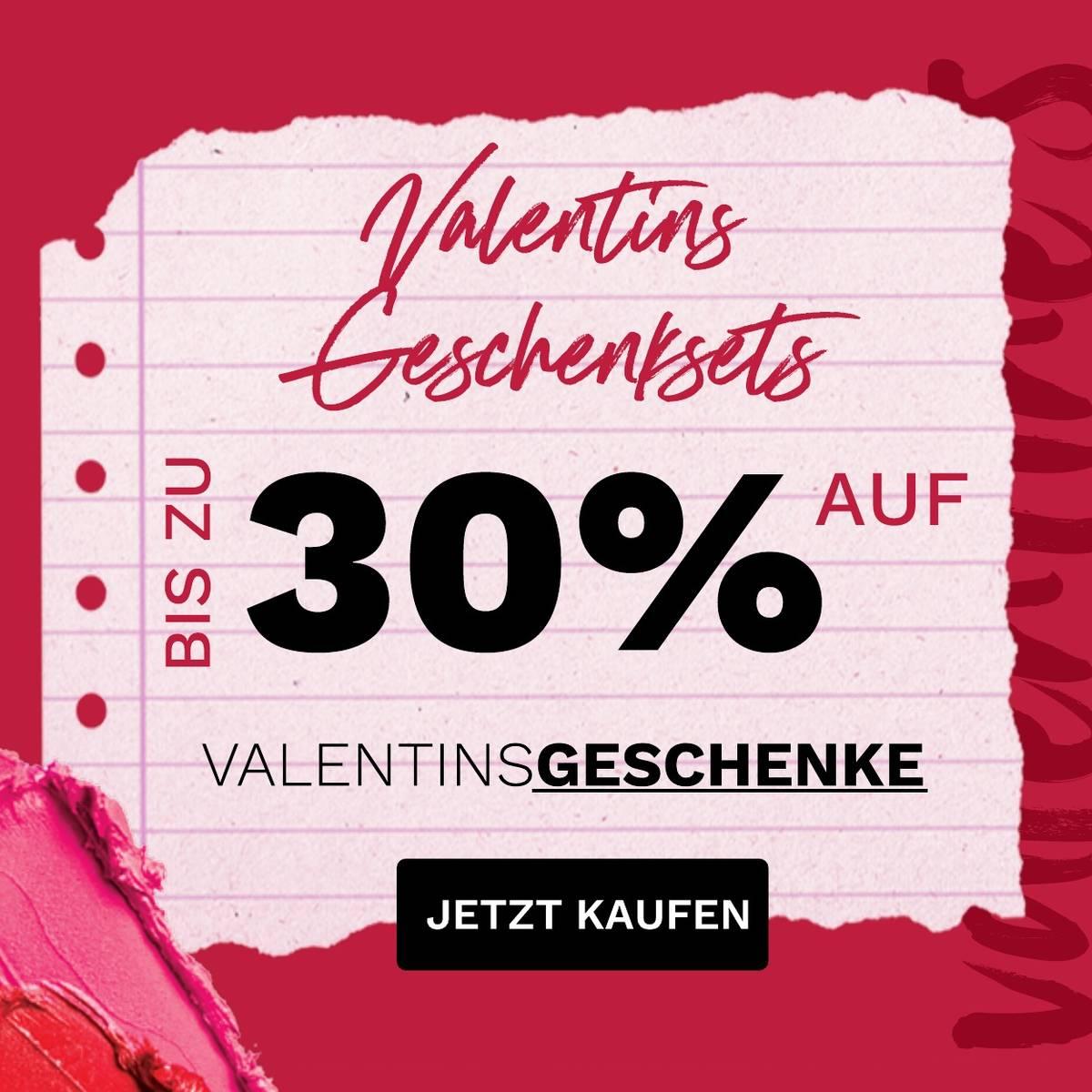 Spare bis zu 30 % auf Geschenksets zum Valentinstag!