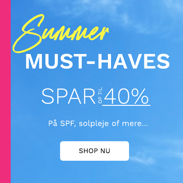 SPAR OP TILL 40% PA SUMMER MUST-HAVES