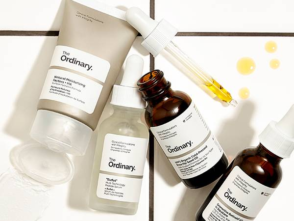 Build your own Routine with The Ordinary