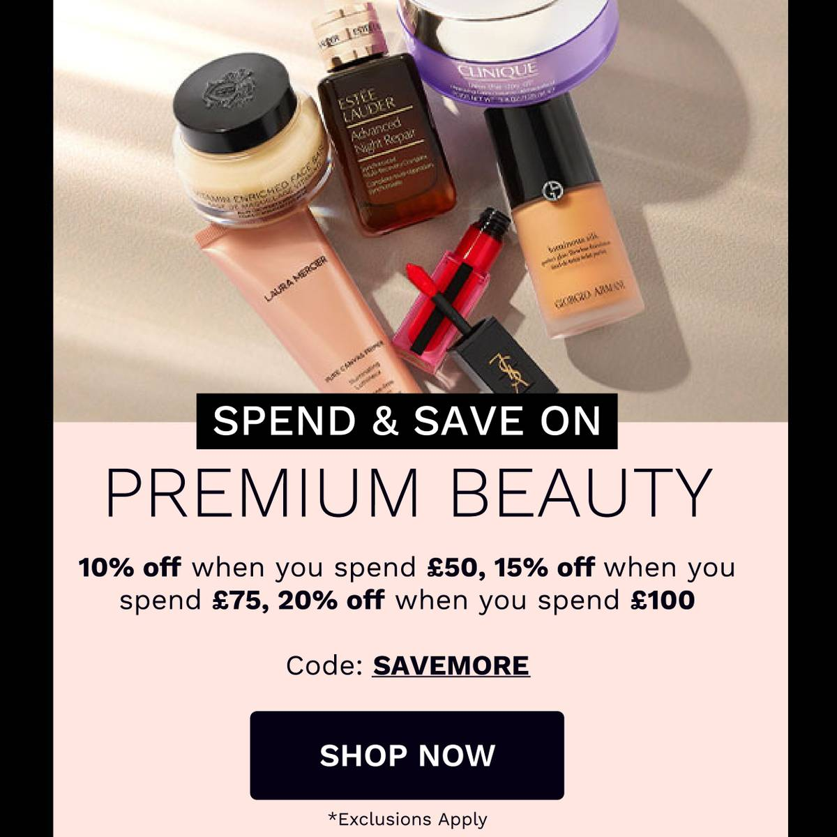 Premium Beauty - Save up to 20%*