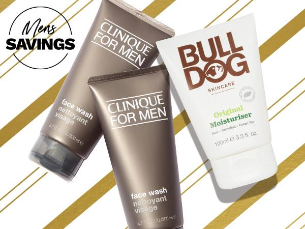 Mens bank holiday offers up to 40% off