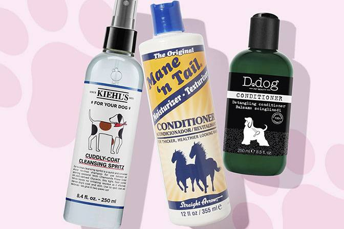 Pet conditioners and treatments