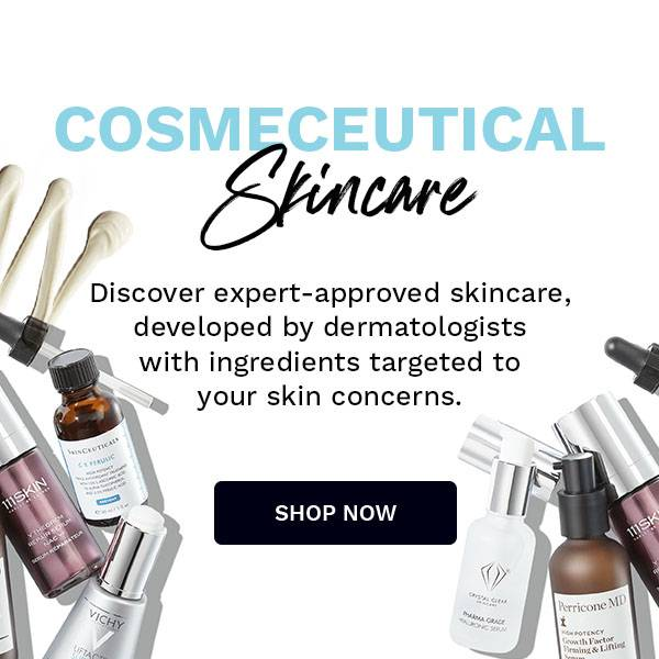 cosmeceutical skincare top banner