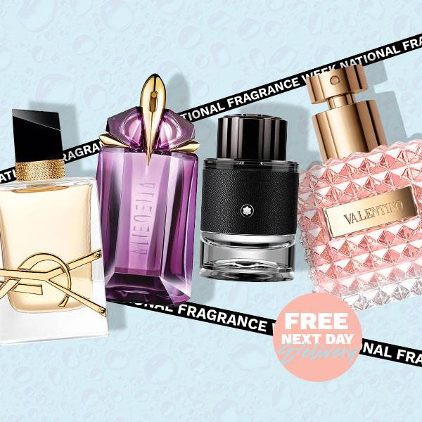National Fragrance Week - Free next day delivery.