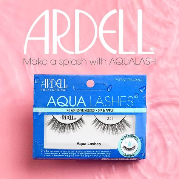 Ardell Aqua lashes top banner