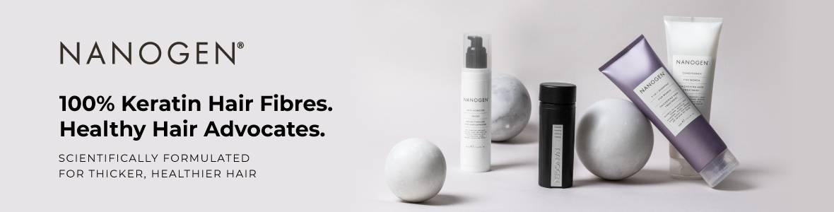 Nanogen haircare, the homepage