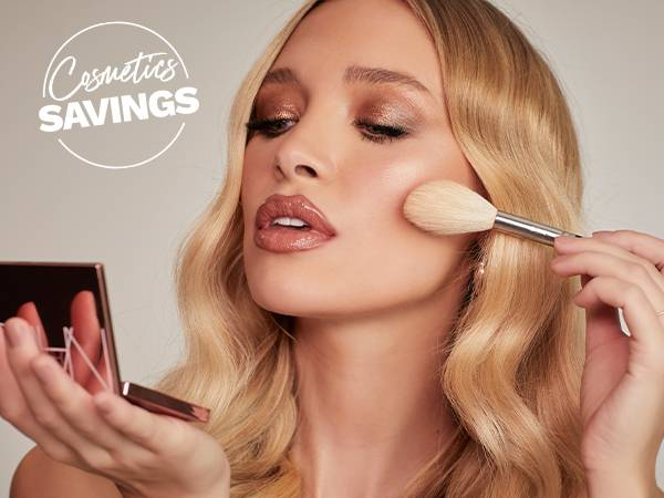bank holiday cosmetics savings