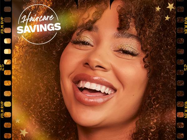 Hair offer up to 25% off bank holiday