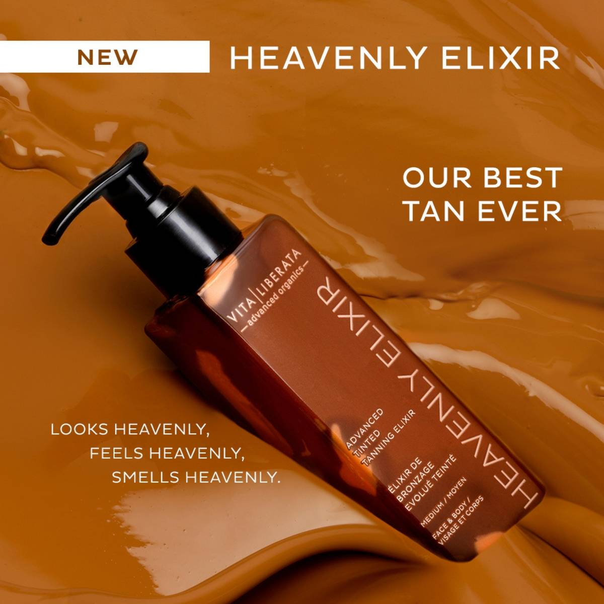 Vita Liberata's ingredients are the purest in the tanning world; natural, certified organic and Ecocert approved extracts are key to their formulas.