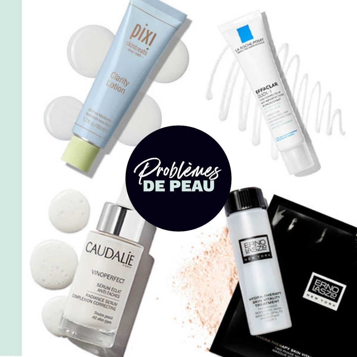 Faites vos achats en fonction de vos problèmes de peau pour obtenir les meilleurs produits de soins pour la peau !