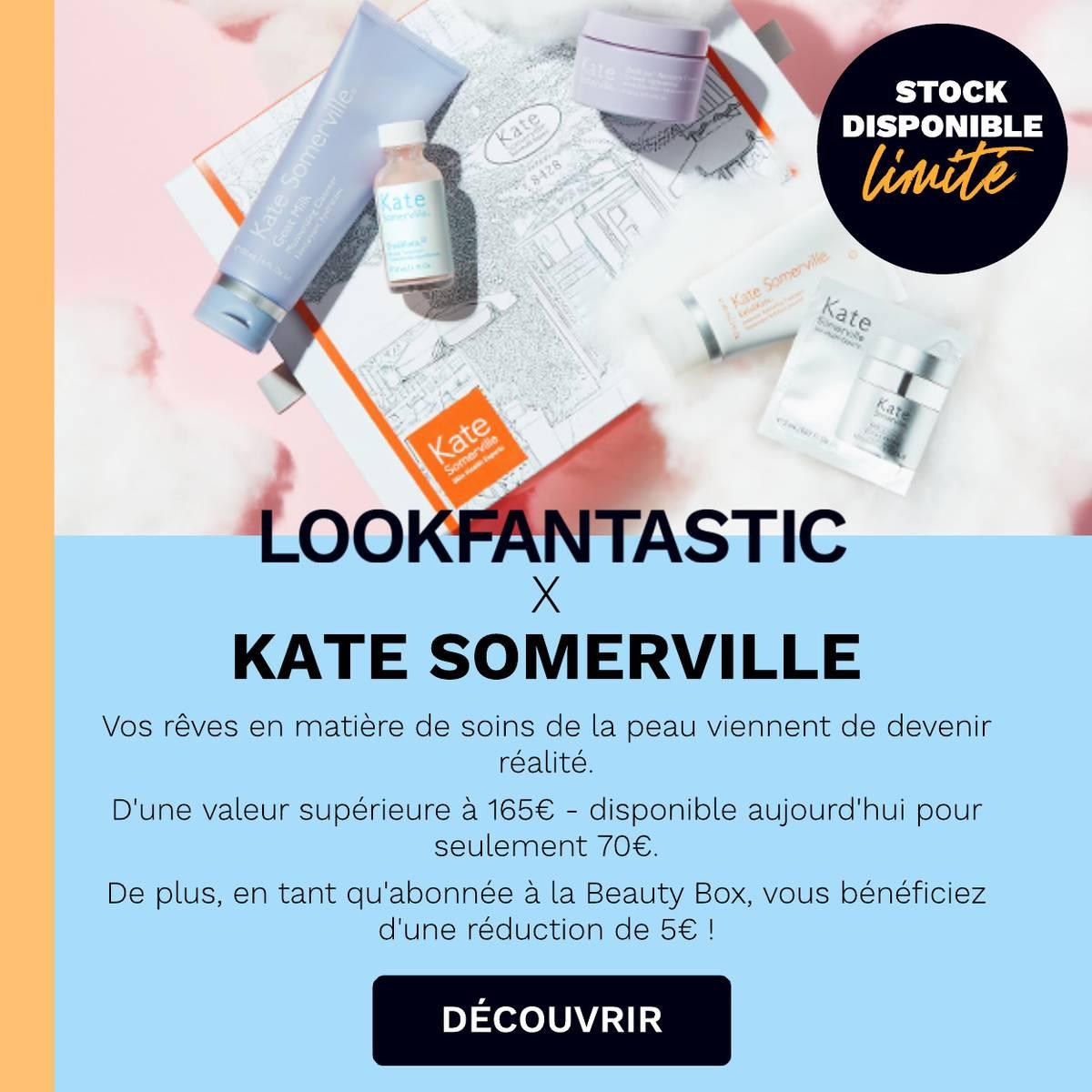 La Beauty BoxKate Somerville est arrivée!