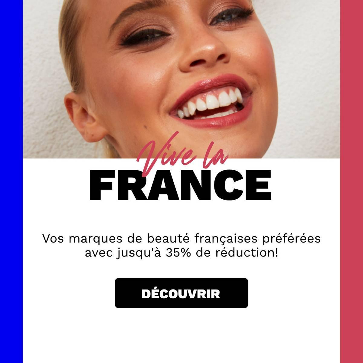 Économisez jusqu'à 30% sur vos marques françaises préférées !