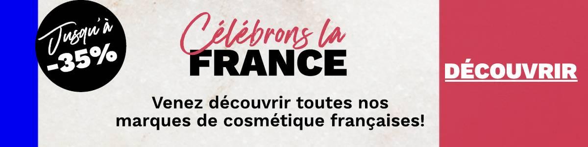 Retrouvez toutes vos marques de beauté françaises préférées !