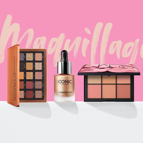 Exprimez-vous grâce à nos nombreux produits de maquillage hauts en couleur.