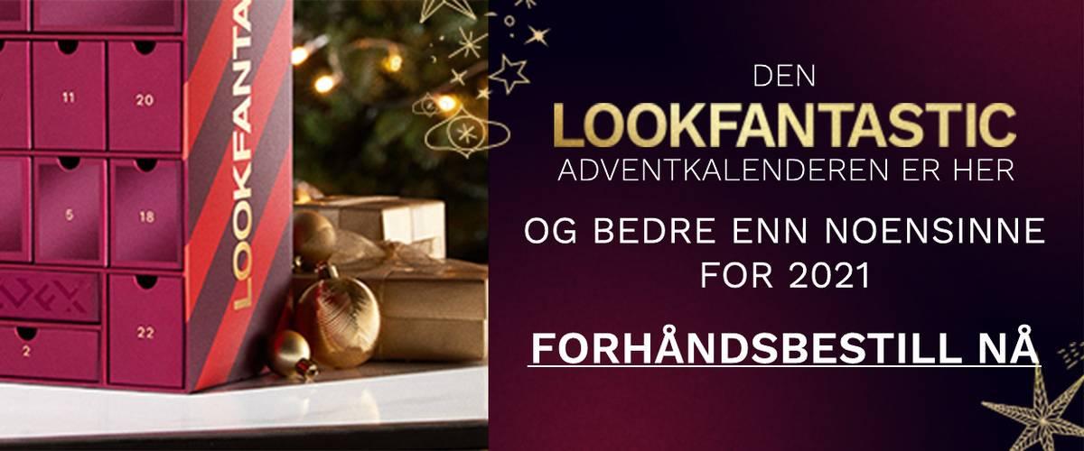 LOOKFANTASTIC Adventkalenderen - FORHÅNDSBESTILL NÅ
