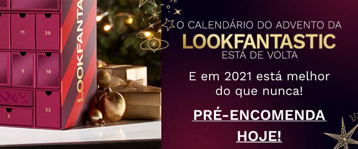 Lista de espera para o calendário do advento 2021 LOOKFANTASTIC