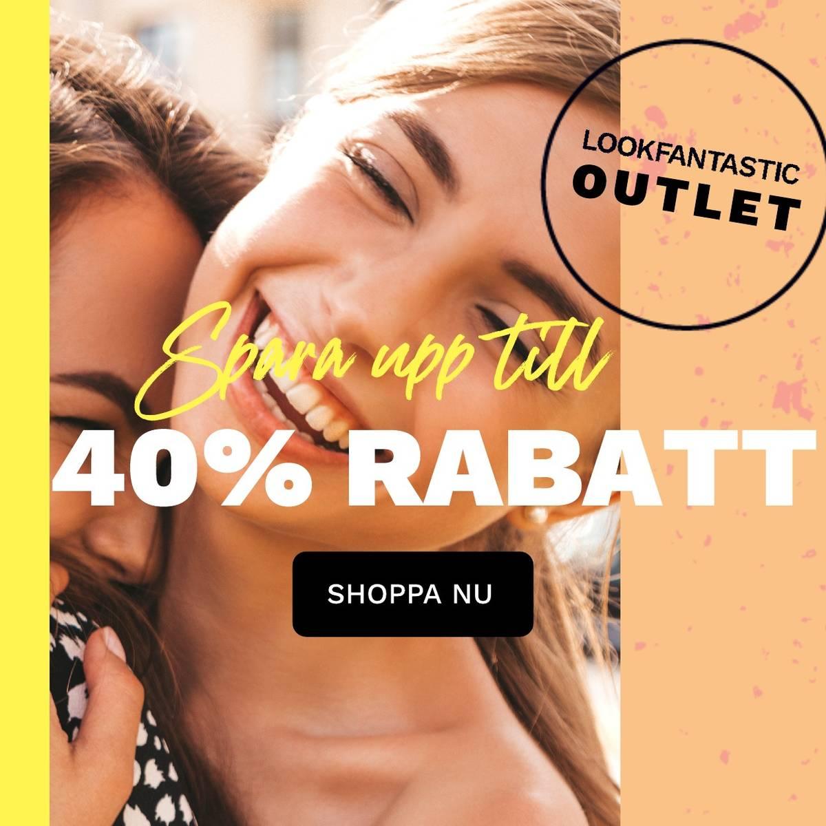 Spare bis zu 40% im LOOKFANTASTIC Ausverkauf!