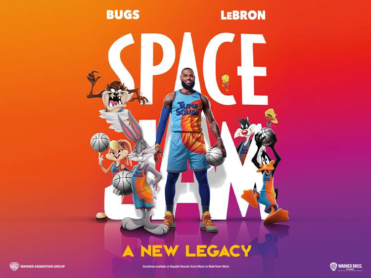 SPACE JAM 2 TAKE OVER