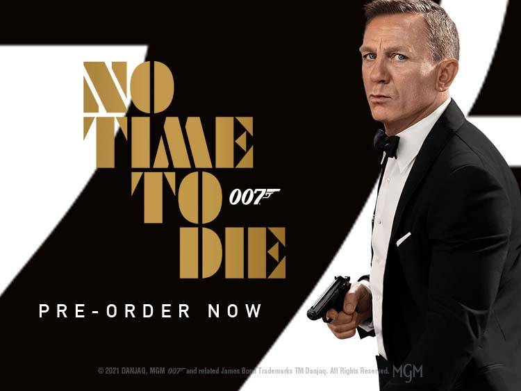 JAMES BOND RELEASE BANNERS