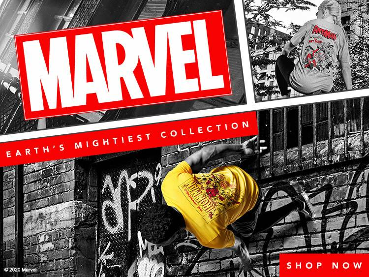 MARVEL CLOTHING COLLECTION