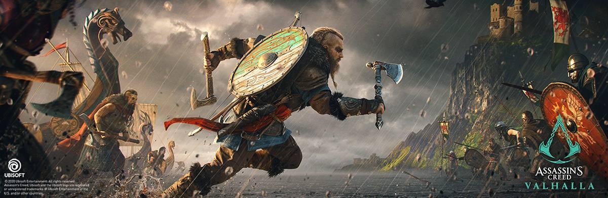 Assassin's Creed: Valhalla Key Art