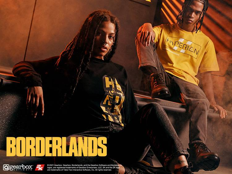 BORDERLANDS 3 CLOTHING COLLECTION