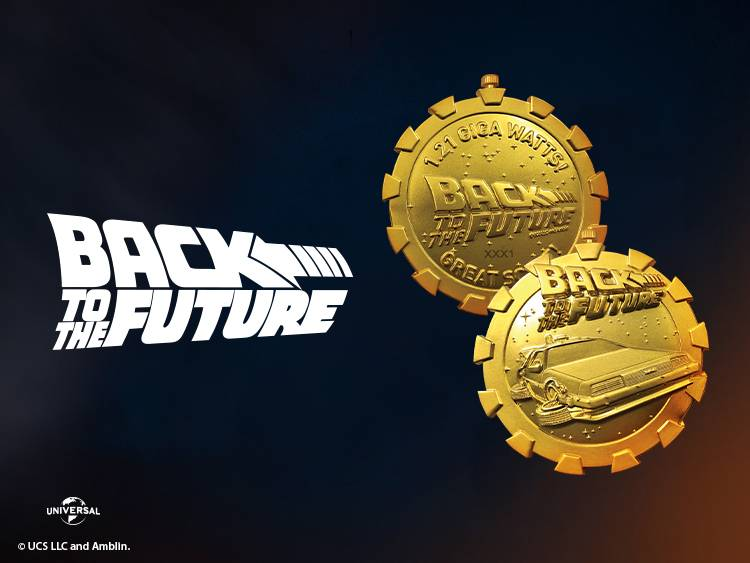 BACK TO THE FUTURE LAUNCHES COLLECTABLES 2