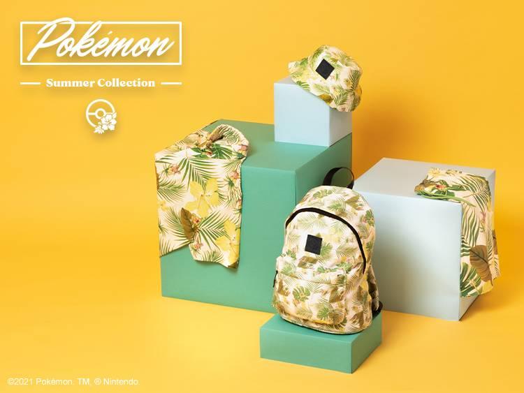 GREEN POKEMON SUMMER Collection