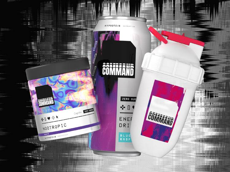 COMMAND ENERGY DRINK FOR GAMERS
