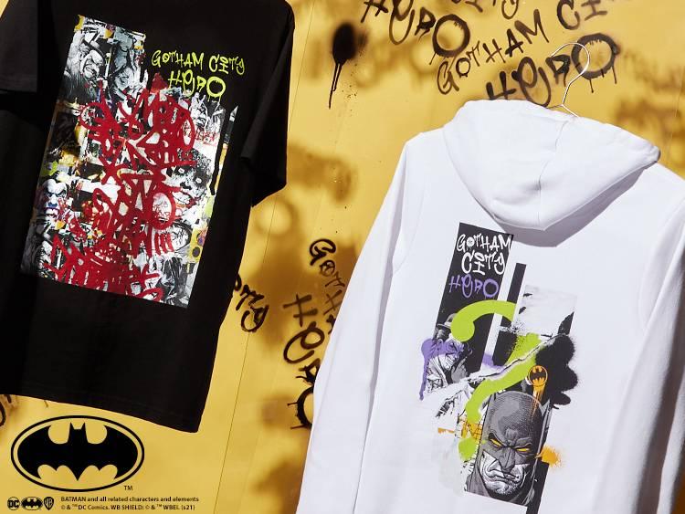 BATMAN MASH UP CLOTHING BANNERS
