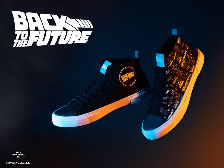 BACK TO THE FUTURE LAUNCHES AKEDO