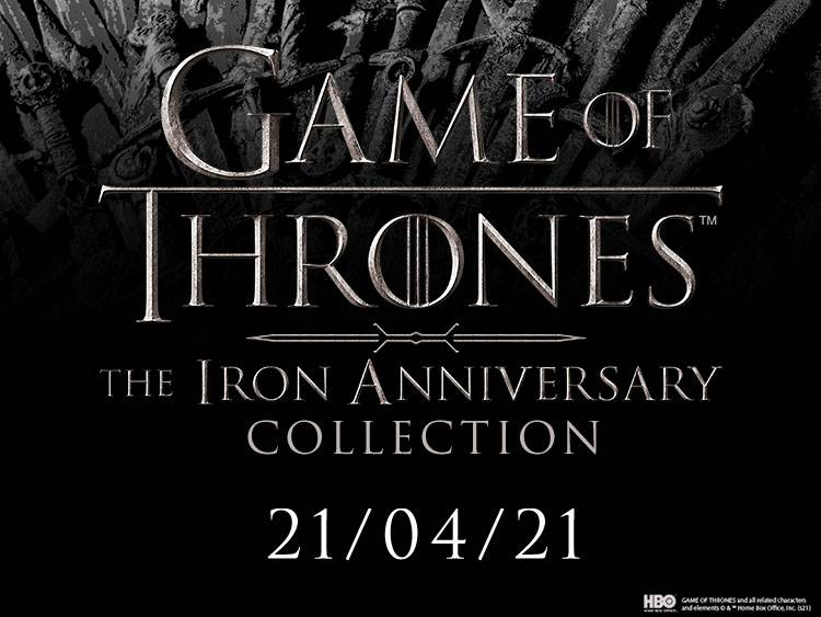 COLLECTION GAME OF THRONES 10ÈME ANNIVERSAIRE