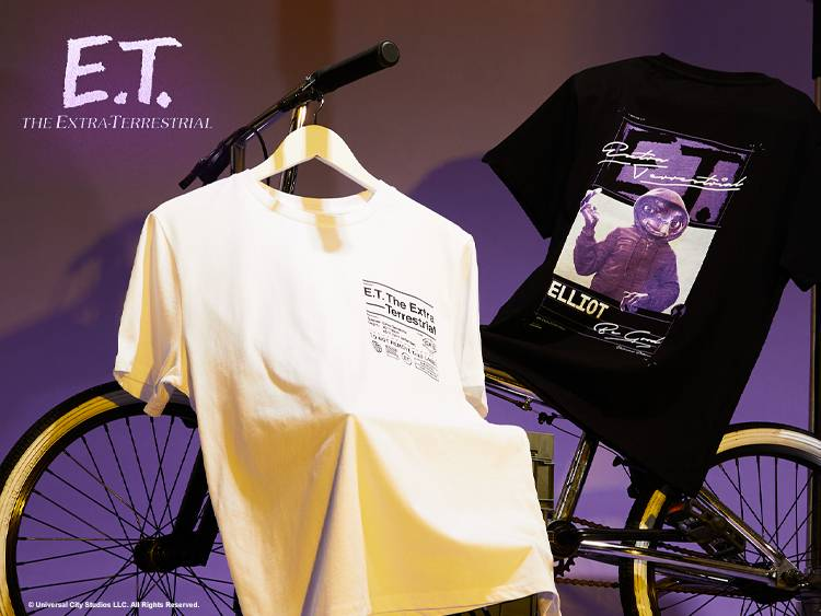 E.T. in the cut Collection