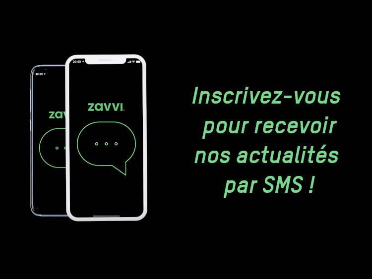 Inscrivez-vous pour recevoir nos actualités par SMS