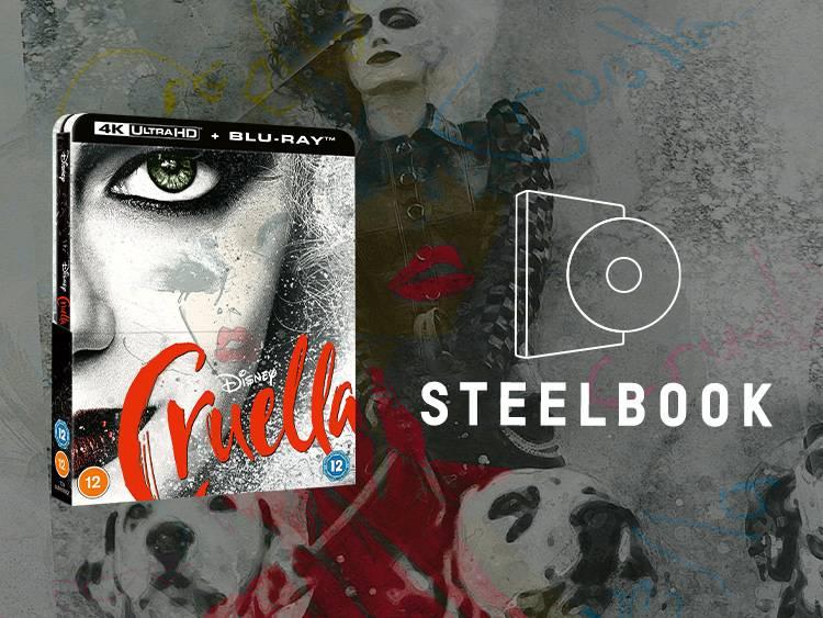 Zavvi Exclusive Cruella Steelbook
