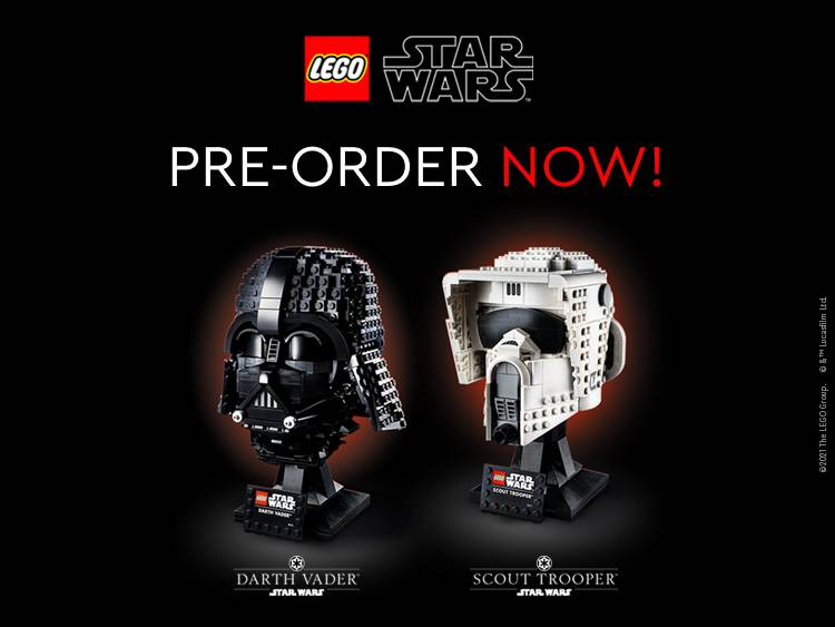 LEGO Star Wars Busts