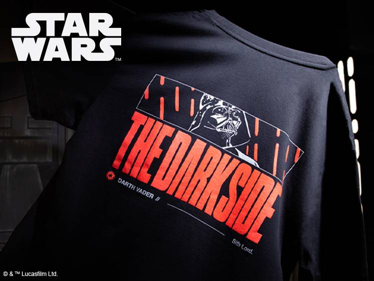 Star Wars Limited Edition Darth Vader Puff Print Unisex T-Shirt