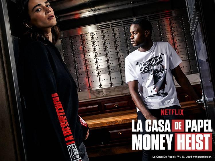 MONEY HEIST GO LIVE BANNERS