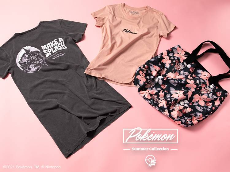 PINK POKEMON SUMMER Collection